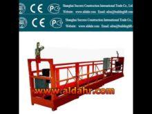 ZLP suspended platform manufactures/gondola building price