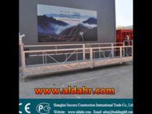 ZLP swing stage/cradle/gondola/suspended platformZLP facade rope suspended platform
