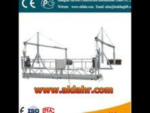 ZLP temporary installed suspended access equipment/suspended platform