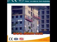 zlp window cleaning suspended platform roof mobile scaffolding 220v