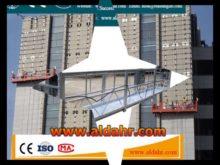 ZLP100 Rope Suspended Platform zlp630 working suspended platform