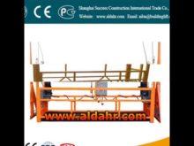 ZLP500 Electric hanging basket/ Suspended Platform 220v