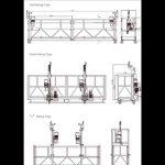 Zlp800 Aluminum Alloy Lift Platform